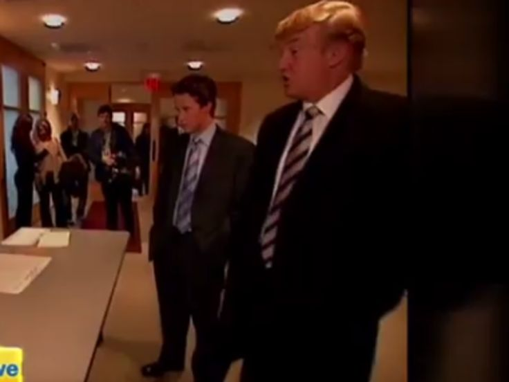 "Donald Trump may now be warning of a ""rigged"" election, where a voter can cast a ballot ""like 10 times,"" but back in 2004, the real estate magnate struggled to vote even once, according to a video segment filmed with Access Hollywood.    In the video, Trump takes Access Hollywood's Billy Bush with him to a New York polling place, only to find that his name is not on the voter rolls. They travel to two other polling places and face the same issue. Trump eventually fills out a provisional…"