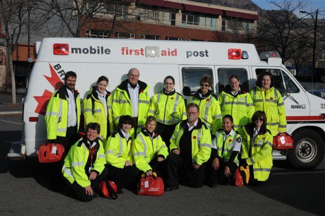 Kamloops medical first responder team.