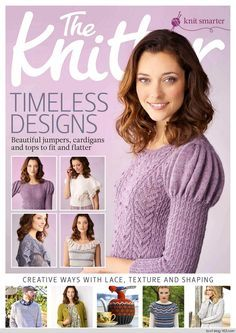THE KNITTER №111 2017 - p.38 - cover pic