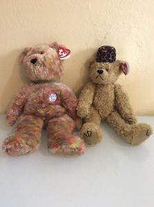 TY Bears Beanie Buddy Plush Speckles & Isabella Lot Of 2  | eBay