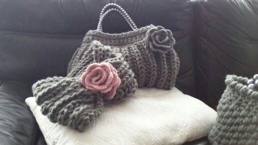 Coordinati borsa sciarpa