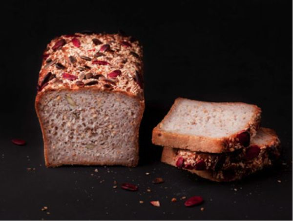 Pain Bénit - pain de mie farine de riz et céréales biologiques certifiées libres de gluten ©Eric Kayser