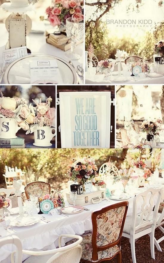 vintage bridal shower wedding ideas pinterest With vintage wedding shower ideas