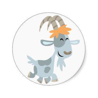 Cute Cool Cartoon Goat Sticker monsters Pinterest
