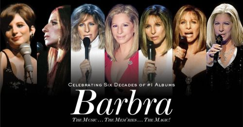Barbra Streisand 2016 Tour | TheatreGold	                  ­                                       Barbra Celebrating Six Decades of Number 1 Albums Tour 2016.  Barbra Streisand, who last year became the only recording artist or group to achieve #1 albums in each of six decades, will bring her legendary live performances to 9 cities in August. See All Dates, Tickets and News HERE http://www.theatregold.com/barbra-streisand-2016-tour/