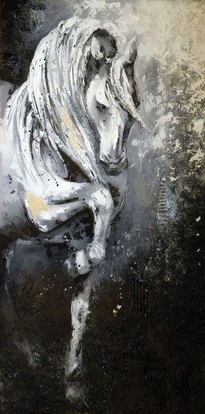 Prestance by Jessica Sansiquet - painting on canvas
