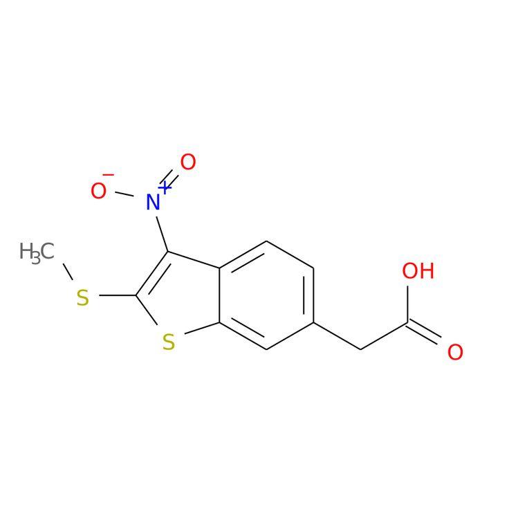2-(METHYLTHIO)-3-NITROBENZOTHIOPHENE-6-ACETIC ACID is now  available at ACC Corporation