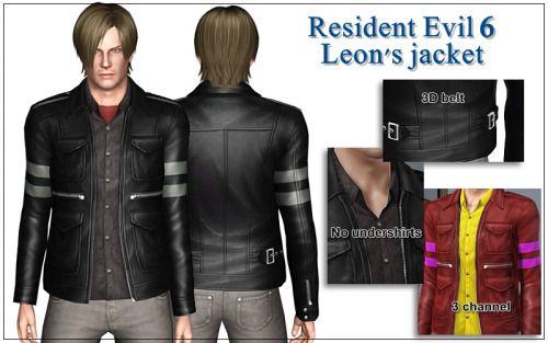 "salverin:  ""Leons jacket by Bucket  Download  """