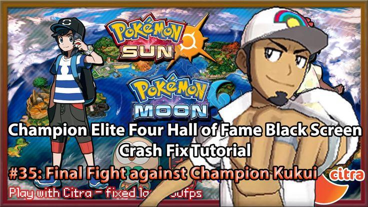 https://youtu.be/oT6D1hbvCtg Let's play Pokemon Sun & Moon on PC - #35 Final Fight against Champion Kukui