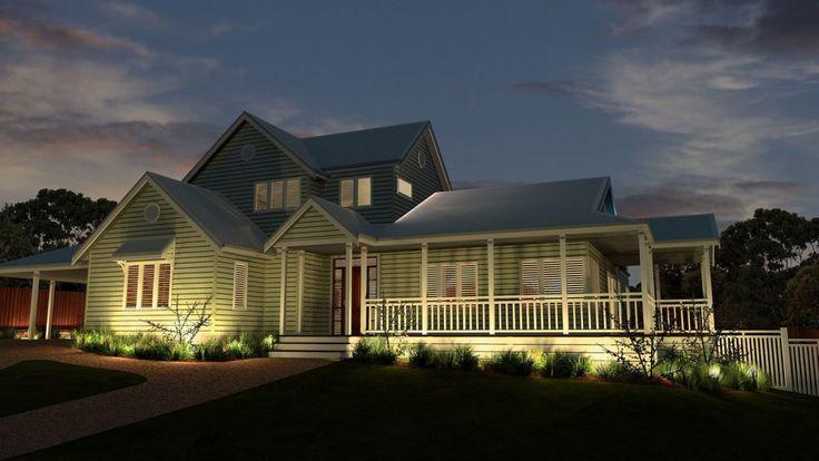 Great Emerald House Storybook Designer Kit Homes Australia | Weatherboards  U0026 Windchimes | Pinterest | Emeralds