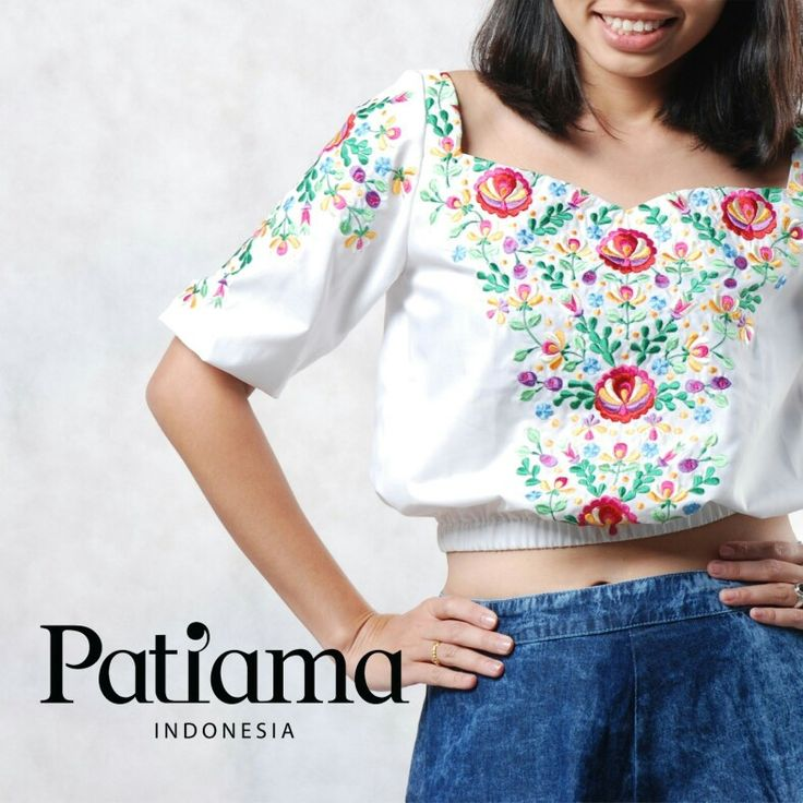 Handmade embriodery on cotton.. All size Good for summer www.patiama.com