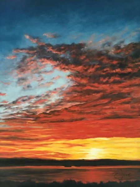 "Eleni Manolakos Oil 40"" X 30"" oil paintings online canadian paintings canadian painters art dealer painting artist artists in canada painting canada sell art"