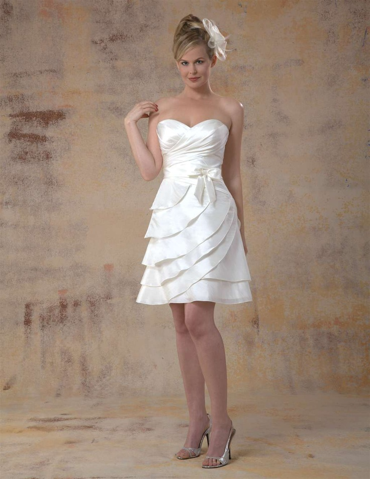 46 best Bride\'s Second Look (Reception Dresses) images on ...