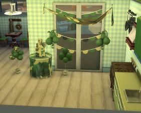 Mod The Sims - Camouflage Baby Shower Stuff