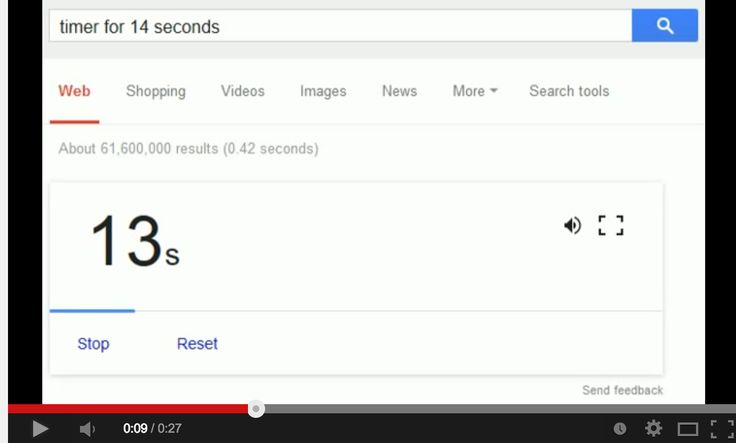 Google Now Releases a Free Countdown Timer ~ Educational Technology and Mobile Learning