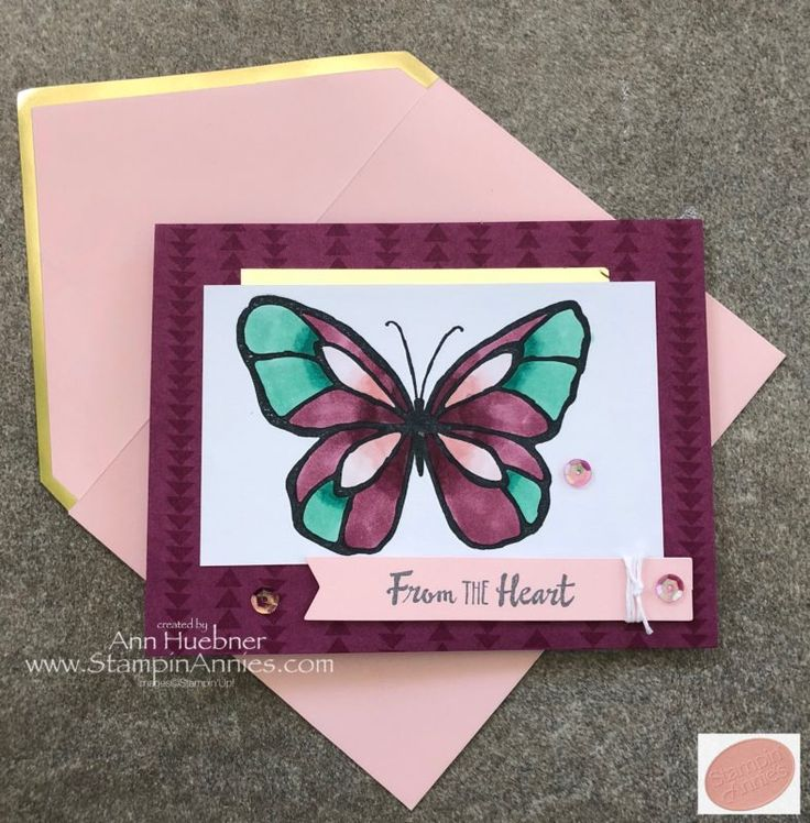 Beautiful Day Butterfly Card with Color Me Happy Project Kit by Stampin' Up!