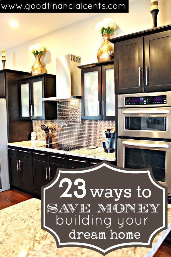 Building a home in your future? Check out this fantastic goldmine of ideas to cut your costs and build the house of your dreams. Via Good Financial Cents | homedecoriez.comhomedecoriez.com