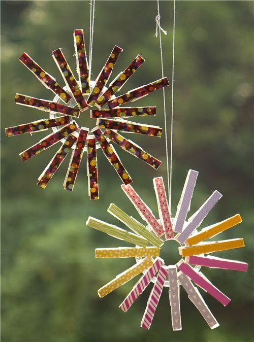 Christmas Clothespin Ornament By Modes4u Com Christmas