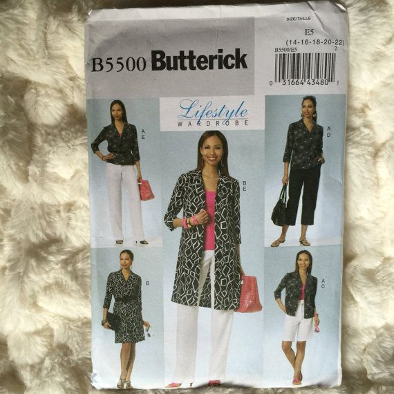 Butterick Misses Petite Shirt Dress Shorts and Pants Womens