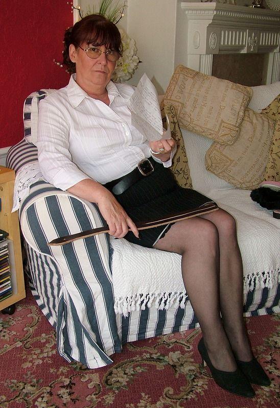 Aunt isobel spank
