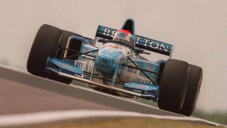 Johnny Herbert, Silverstone 1995, Benetton B195