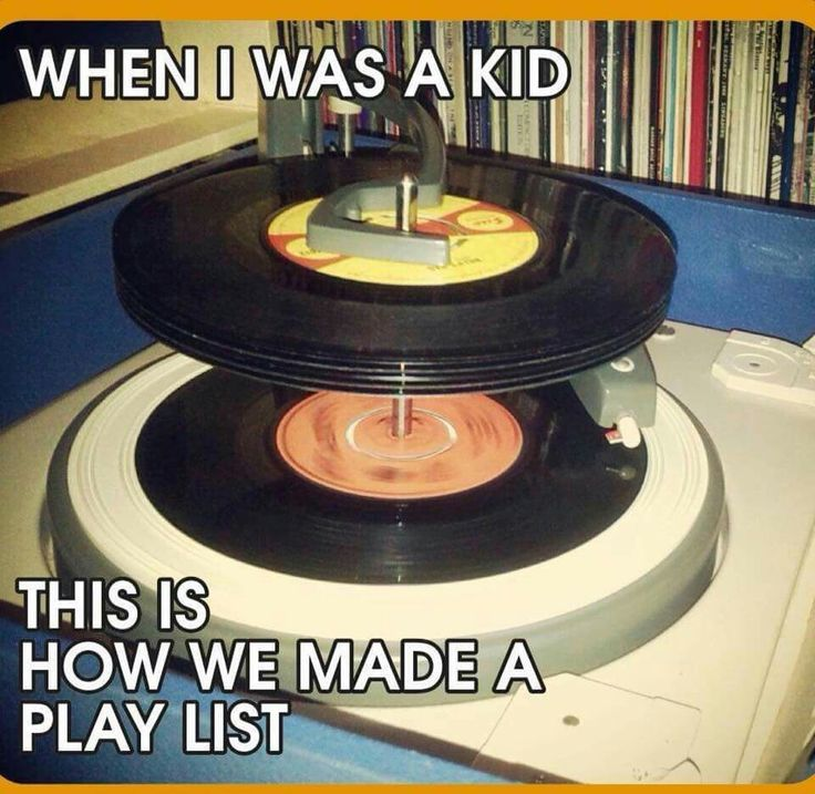 When I was a kid....