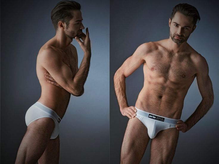 Men underwear collection Paul Brun Cocorrico everyday Slip fabric: Cotton 95% elastan 5%  Photo: George Ksandr