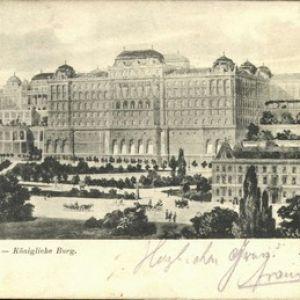 Budapest, Hungary 1905 - Royal Castle