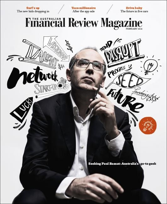 Newest cover Australian Financial Review Magazine Photographer: Josh Robenstone Illustrator: Sam Bennett Design director: Tim Beor Click here for more covers AFR magazine on Coverjunkie