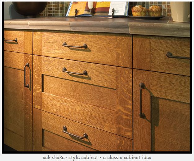 White Oak Kitchen Cabines What To Put With Quarter Sawn