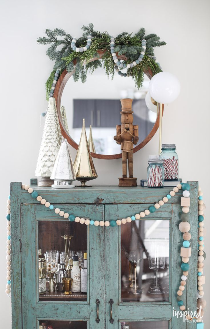 Holiday Bar Car Decorating Ideas An Apartment For Christmas Decorations Decor