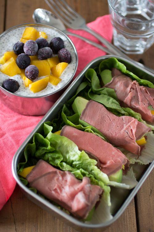 Zo is gezond eten op je werk echt niet moeilijk meer, en het kost bovendien weinig extra tijd om een lunch als deze te maken.
