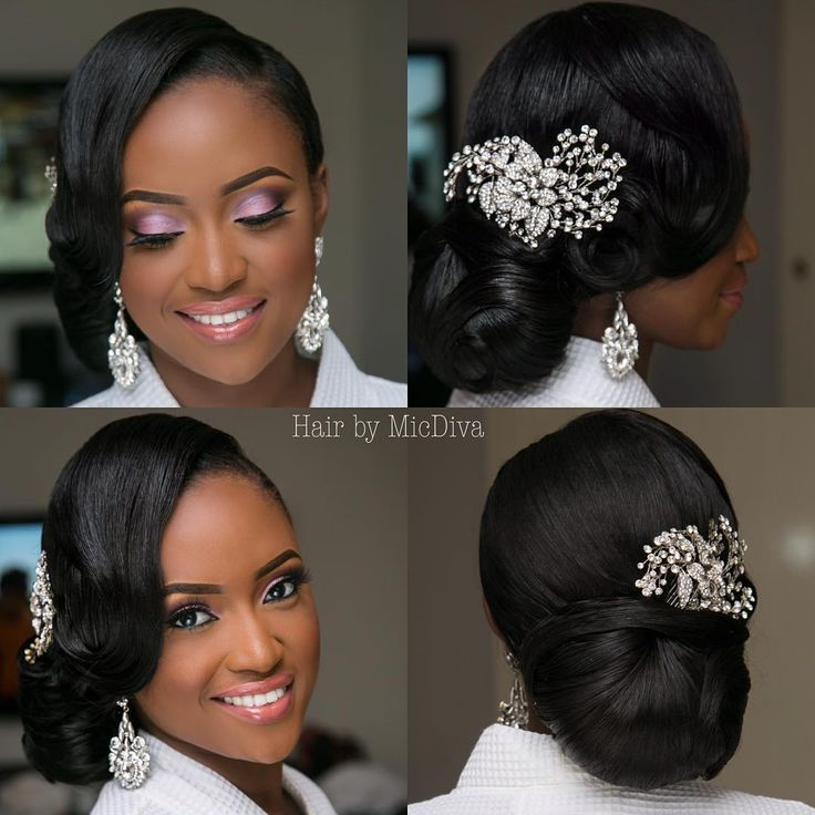 Simple Long Hair Wedding Style For Mother Of Groom In Her 60 S: 30 Best Black Wedding Hairstyles Images On Pinterest