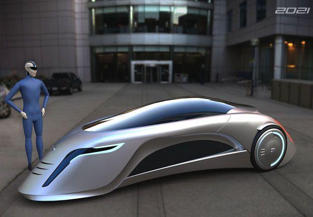 Supersonic Futuristic Car for 2021