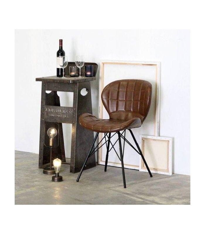 Chaise Kenton Chaise De Salon Chaise Design Chaise Simili Cuir