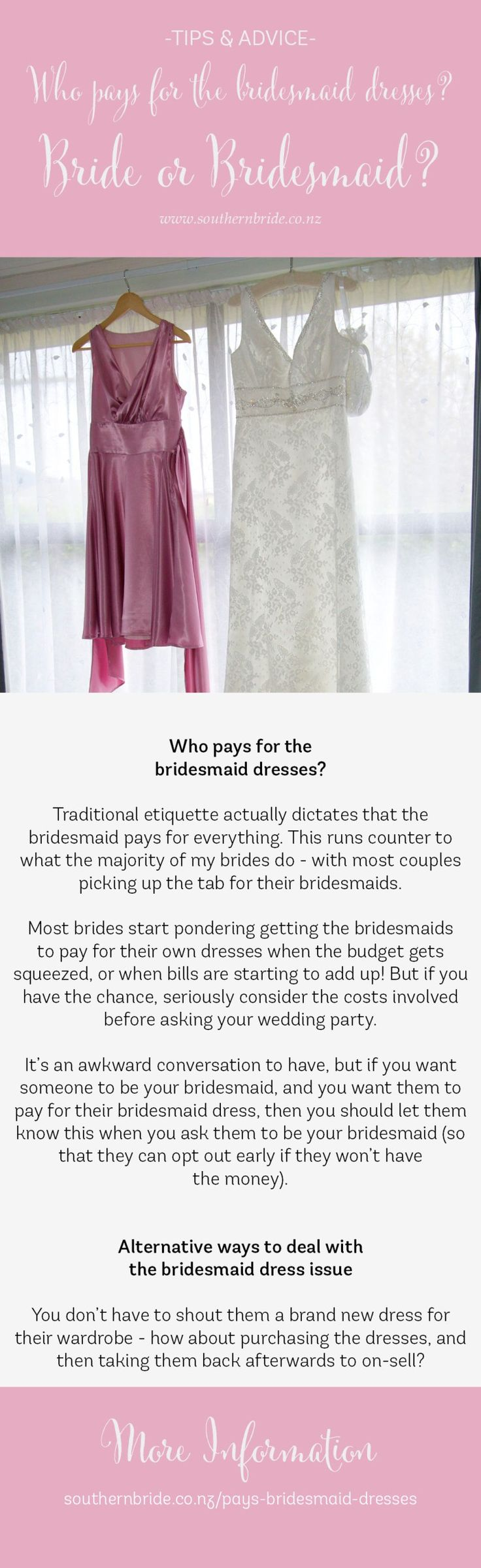 311 best bridesmaids images on pinterest southern bride summer who pays for the bridesmaid dresses ombrellifo Image collections
