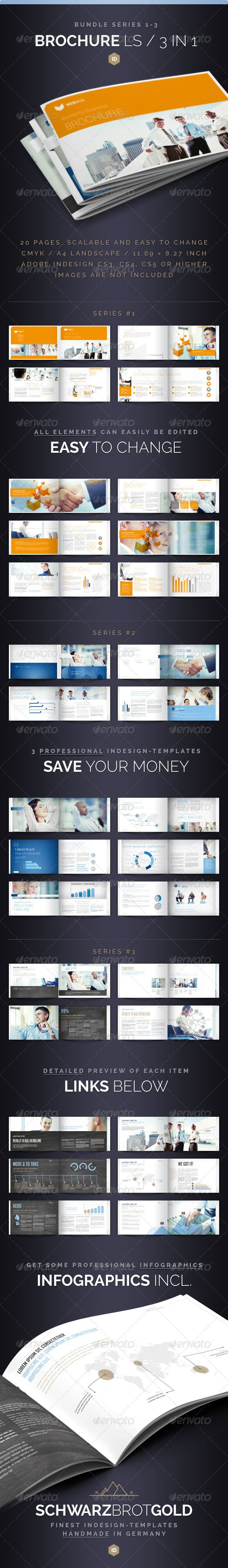 Best Collateral Design Images On Pinterest Brochure Template - Multi page brochure template