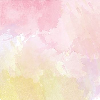Abstract vector hand drawn watercolor background Colourful template There is blank place for your text EPS 10