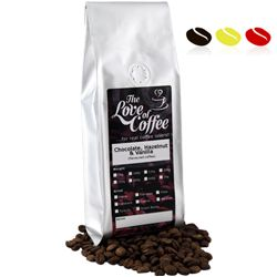 Chocolate Hazelnut & Vanilla Flavoured Coffee | Flavoured Coffee | Next Day Delivery