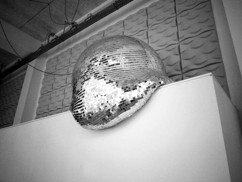 smooshed disco ball