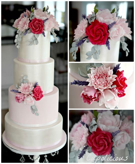 Spring Vintage Wedding Ideas: 1000+ Ideas About Spring Wedding Cakes On Pinterest