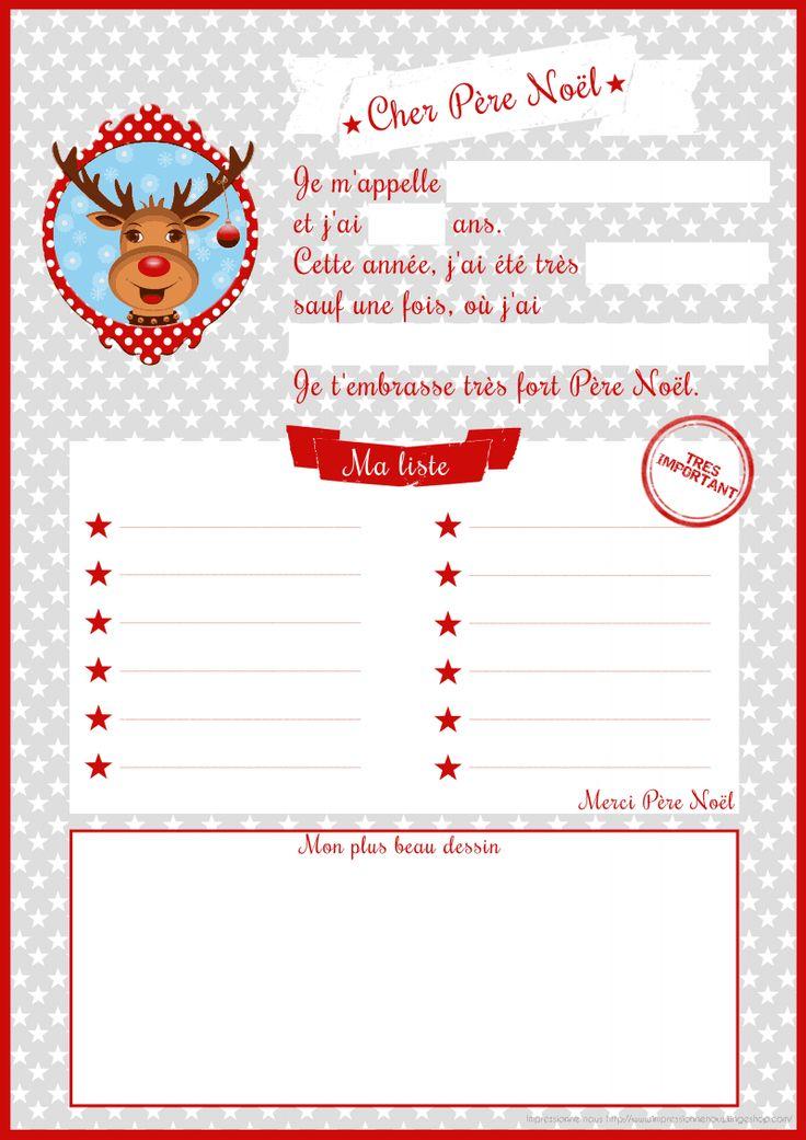 lettre au père noël, liste de cadeaux (2) ^^ !!