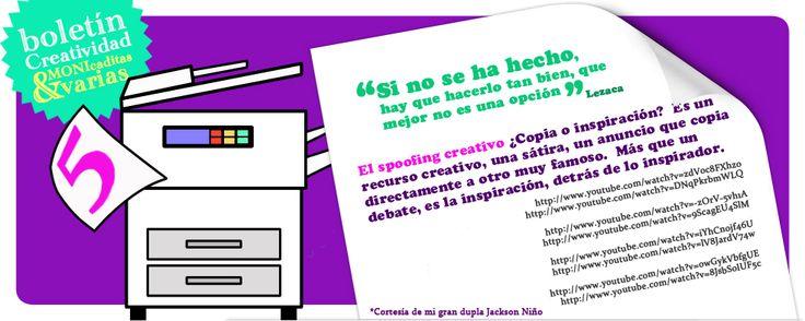 ¿Copia o inspiración? #yotambienquierosercreativa