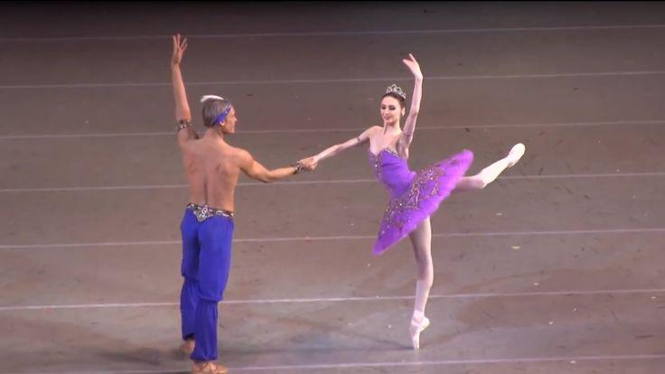 Svetlana Zakharova and Igor Zelensky in Le Jardin Anime in the third act / Le Corsaire