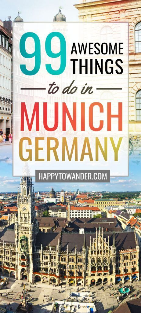 Epic list of 99 amazing things to do in Munich. You can't miss this if you're planning a trip to Munich, Germany. Packed with amazing things to do, things to eat and more - both on and off the beaten path. #Munich #Germany #Europe #Travel