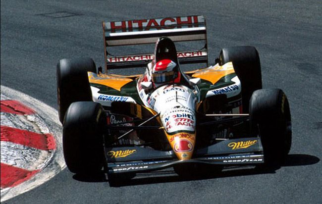 1994 GP Belgii (Spa Francorchamps)  Lotus 109 - Mugen Honda (Johnny Herbert)