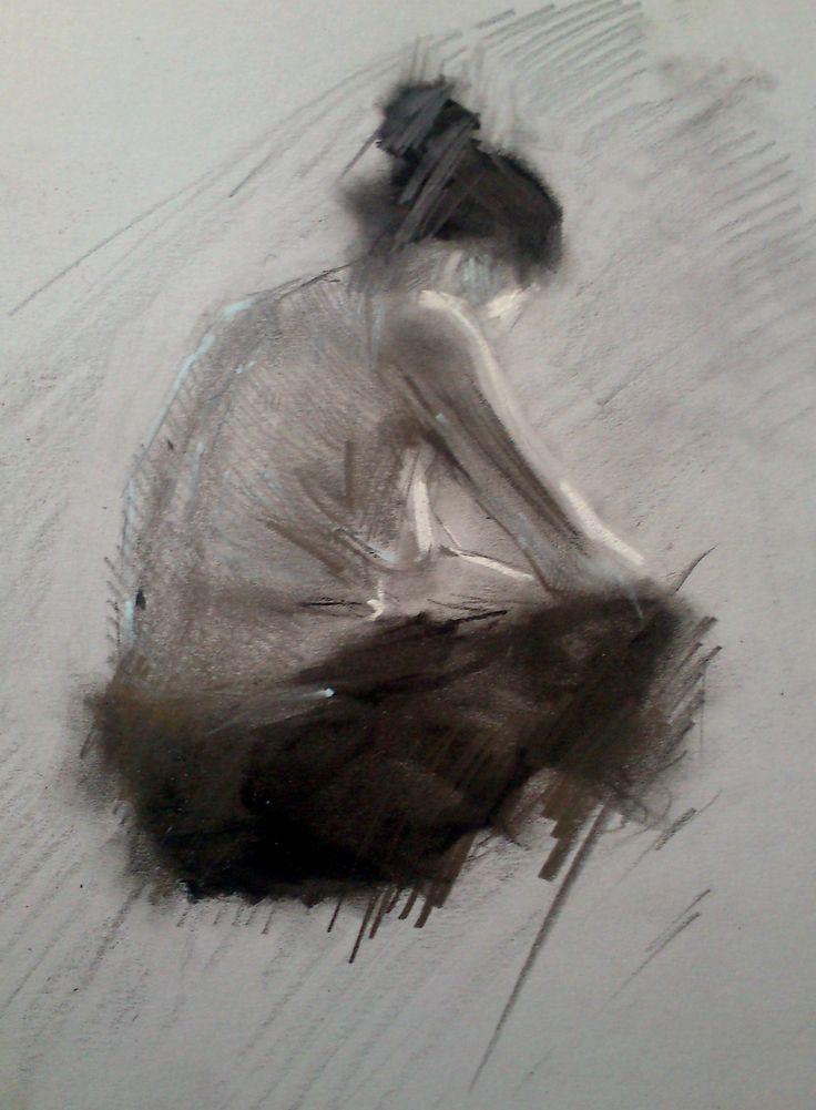 Meditazioe- Resaldo Ajazi                      tecnica mista