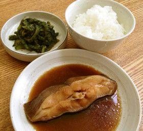 カレイの煮付け☆定食
