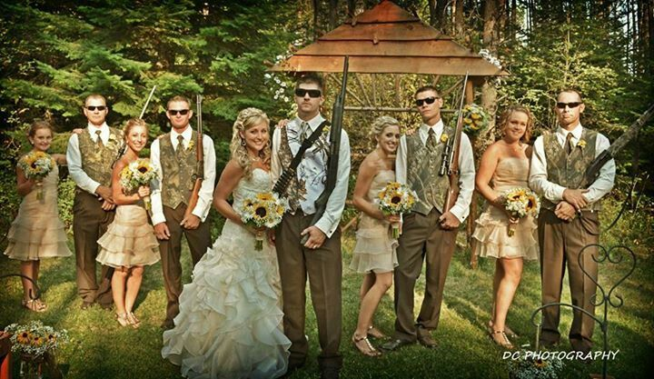 """One Of My Favorites From My Wedding! """"Duck Dynasty"""