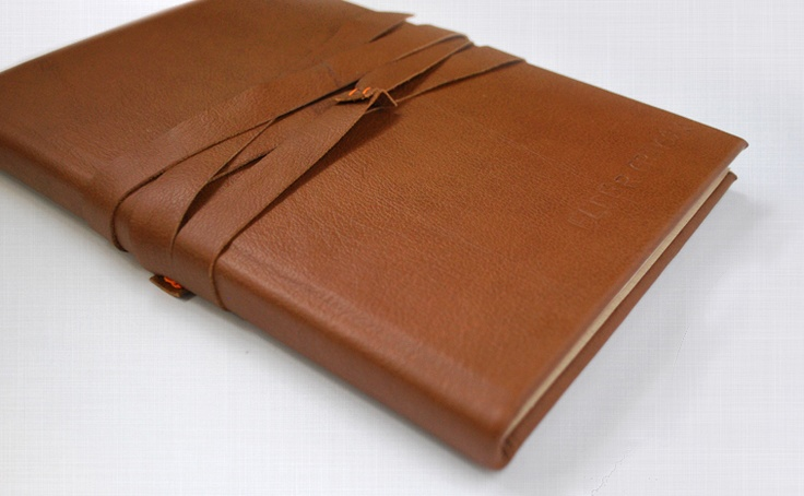 DIY leather journalLeather Journal